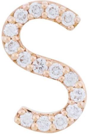 ALINKA 18k rose gold ID diamond stud earring