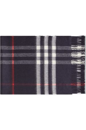 Burberry Men Scarves - Classic Check Cashmere Scarf