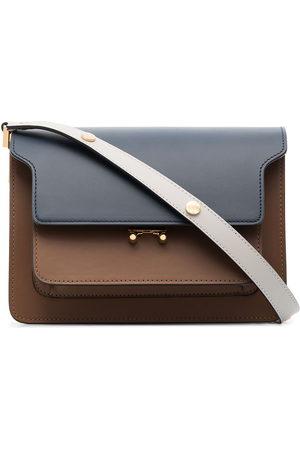 Marni Medium Trunk leather shoulder bag