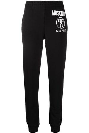Moschino Women Joggers - Milano logo-print track pants
