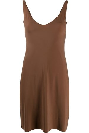 Wolford U-neck slip shape dress