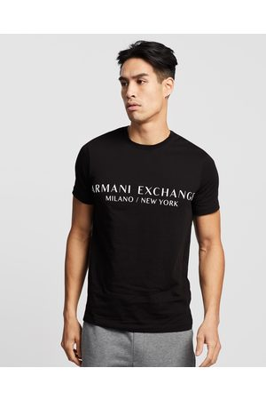 Armani Milano New York Slim T Shirt - T-Shirts & Singlets Milano New York Slim T-Shirt