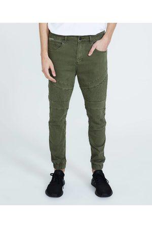 Standard Em2 Cuffed Biker Pants Army