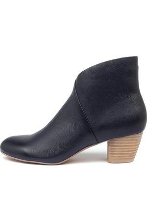 Django & Juliette Women Ankle Boots - Desire Dj Navy Boots Womens Shoes Casual Ankle Boots