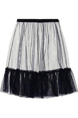 Il gufo Tulle ruffle skirt