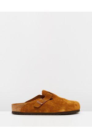Birkenstock Boston Regular Unisex - Casual Shoes (Soft Footbed VL Mink) Boston Regular - Unisex