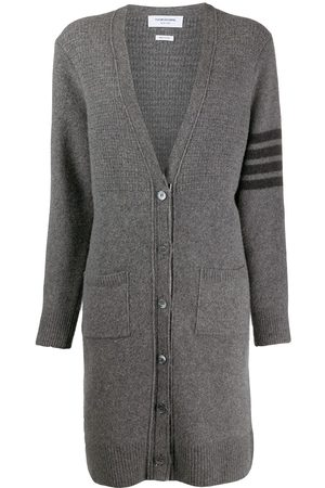 Thom Browne Long wool-blend cardigan