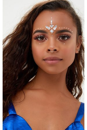PRETTYLITTLETHING Diamante Festival Forehead Jewels