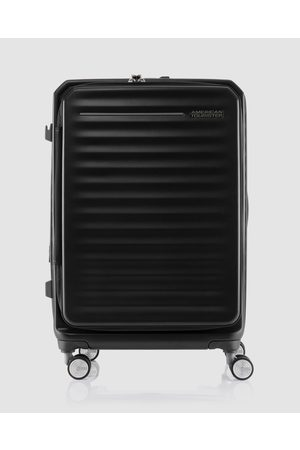 American Tourister Frontec Spinner 68 25 Expandable TSA - Travel and Luggage (Jet ) Frontec Spinner 68-25 Expandable TSA