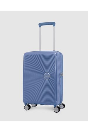 American Tourister Curio Spinner 55 20 - Travel and Luggage (Denim ) Curio Spinner 55-20