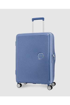 American Tourister Curio Spinner 69 25 - Travel and Luggage (Denim ) Curio Spinner 69-25