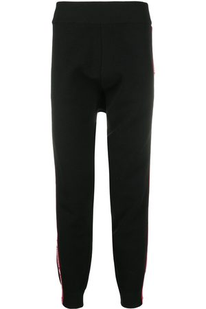 Dsquared2 Appliqué stripe wool track pants