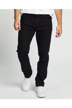 Volcom Solver Modern Fit Jeans - Tapered (Blackout) Solver Modern Fit Jeans