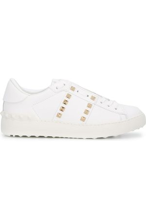 VALENTINO GARAVANI Rockstud-embellished low-top sneakers