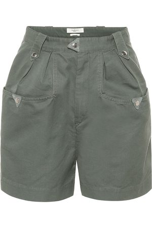 Isabel Marant Palino high-rise cotton shorts