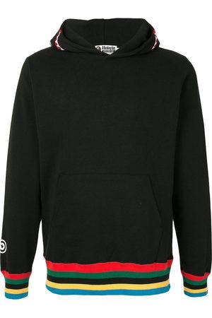 A Bathing Ape Stripe-detail hooded sweatshirt