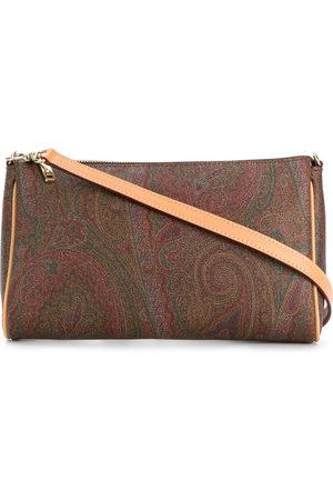Etro Women Shoulder Bags - Paisley print shoulder bag
