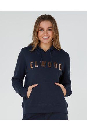 Elwood Huff N Puff Hood - Sweats & Hoodies (Navy/ ) Huff N Puff Hood