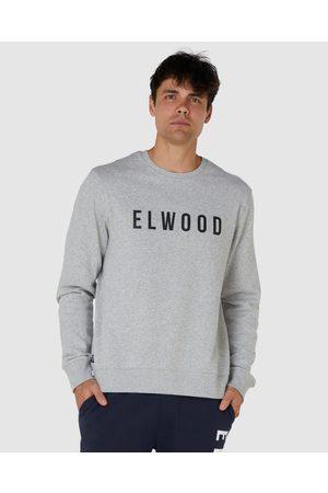 Elwood Mens Huff N Puff Crew - Sweats & Hoodies ( Marle) Mens Huff N Puff Crew