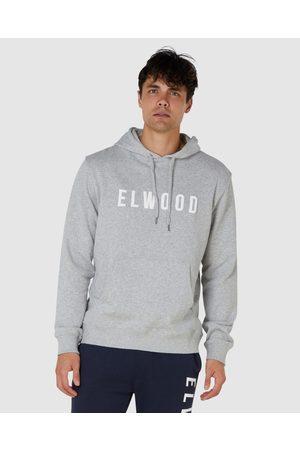 Elwood Men Hoodies - Mens Huff N Puff Hood - Sweats & Hoodies (Greymarle) Mens Huff N Puff Hood