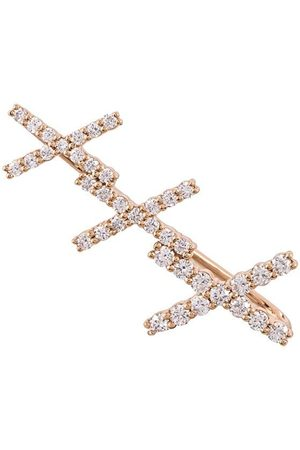 ALINKA 18kt rose gold KATIA diamond cuff earring