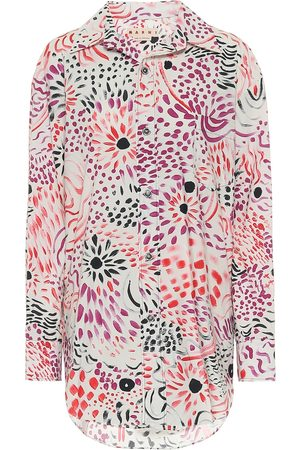 Marni Floral cotton shirt
