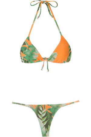 AMIR SLAMA Women Bikinis - Mata Atlântica triangle bikini set