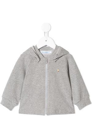Familiar Hoodies - Embroidered bear hoodie