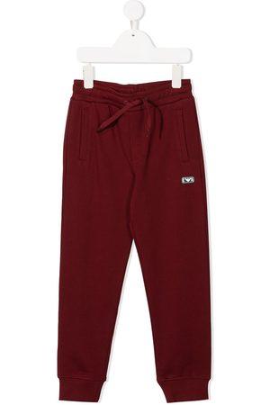 Emporio Armani Logo patch track trousers