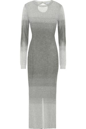 Paco rabanne Lurex® bodycon midi dress