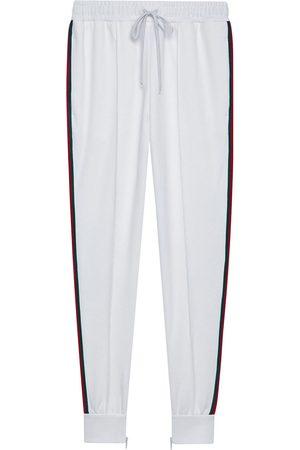 Gucci Women Joggers - Logo patch track pants