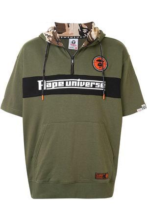 AAPE BY A BATHING APE Men Hoodies - Logo embroidered hoodie