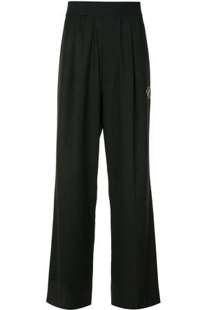We11 Done Wide Leg Pants - Elasticated wide leg trousers