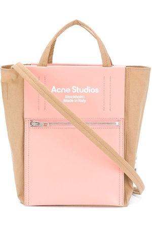 Acne Studios Tote Bags - Logo-print tote bag