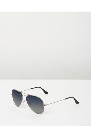Ray-Ban Aviator Gradient Polarised - Sunglasses (Polarised Gradient ) Aviator Gradient Polarised
