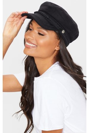 PRETTYLITTLETHING Flat Top Baker Boy Hat