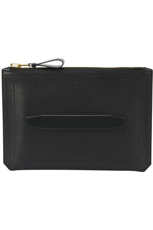 Tom Ford Men Wallets - Grain leather large pouch