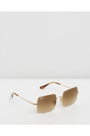 Ray-Ban Square Sunglasses - Square ( , Clear & Gradient ) Square Sunglasses