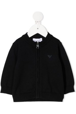 Emporio Armani Chest logo cardigan