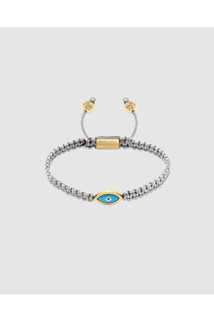 Nialaya Men's String Bracelet with Evil Eye - Jewellery Men's String Bracelet with Evil Eye