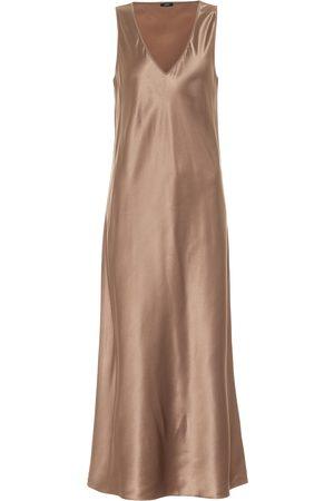 Joseph Daris silk-satin midi dress