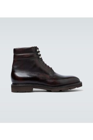 JOHN LOBB Alder leather boots