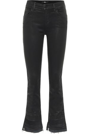 7 for all Mankind Cropped mid-rise jeans