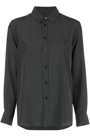 Saint Laurent Polka dot silk shirt