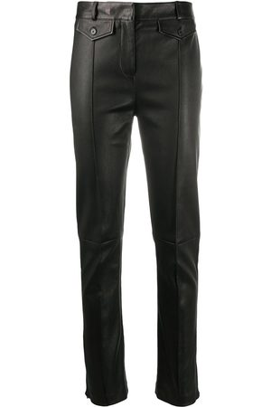 Tom Ford Women Skinny - Leather skinny-leg jeans