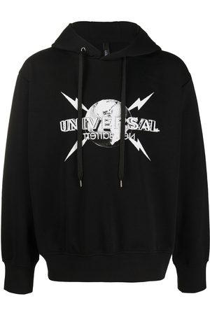 Neil Barrett Universal logo-print hoodie