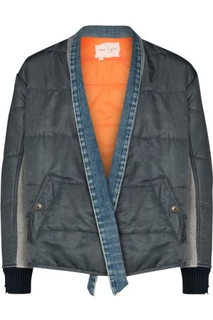 GREG LAUREN Padded bomber jacket