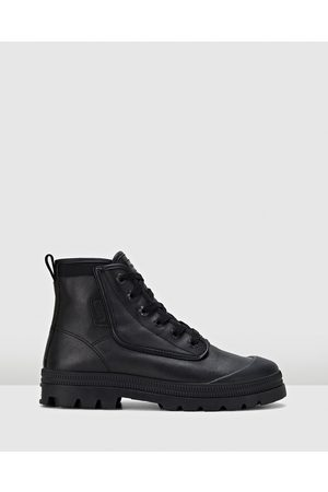 Volley Women Lace-up Boots - Overgrip Leather - Boots ( Leather) Overgrip Leather