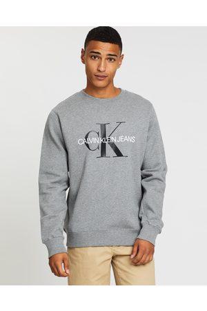 Calvin Klein Core Monogram Logo Sweat - Sweats Core Monogram Logo Sweat