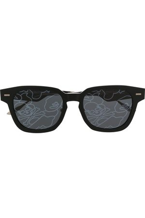 A BATHING APE® Lens-decal square sunglasses